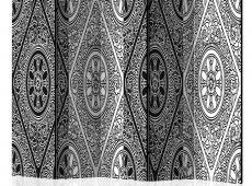 Paraván - Ethnic Monochrome II [Room Dividers]